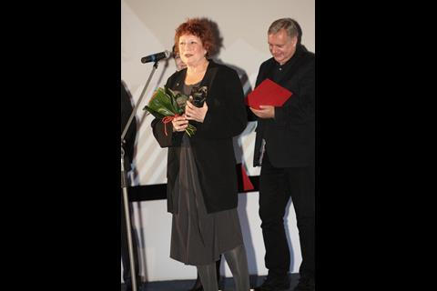 Susanne Rostock wins the documentary award for Sing Your Song